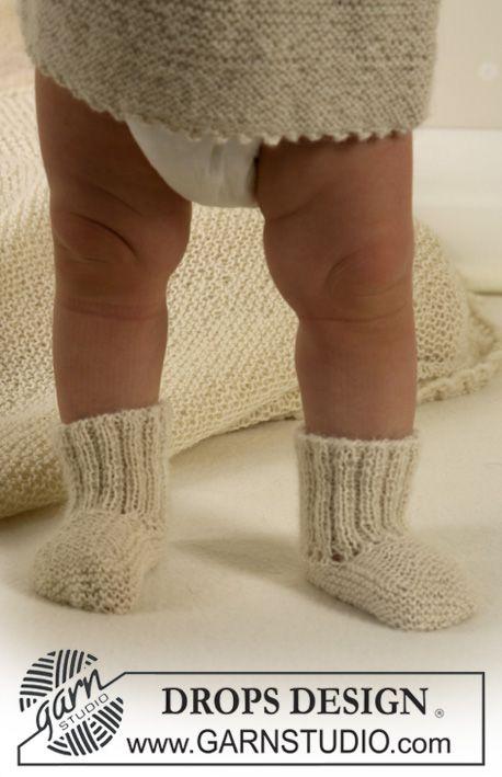 Calcetines en Alpaca Patrón gratuito de DROPS Design.   amparo ...