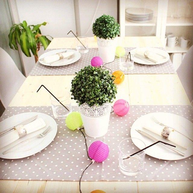 ¡Sorprende a tus invitados! Ideas para decorar una mesa de interior o exterior.#decoración