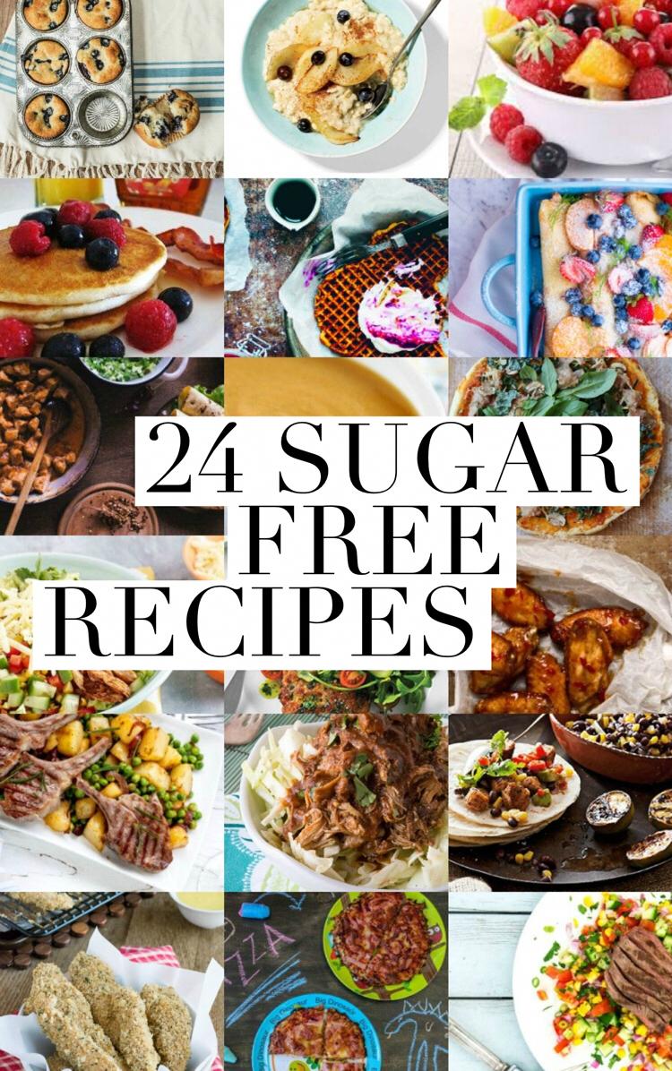 24 Sugar Free Recipes