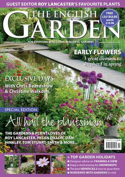Awesome Dont Miss The February Issue Of The English Garden Magazine   Out Now! Www.