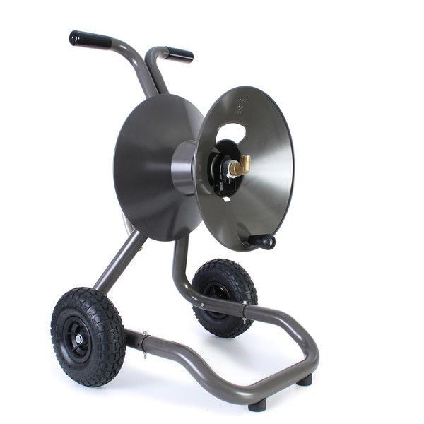 portable garden hose reel cart with wheels eley hose reels - Garden Hose Reel Cart