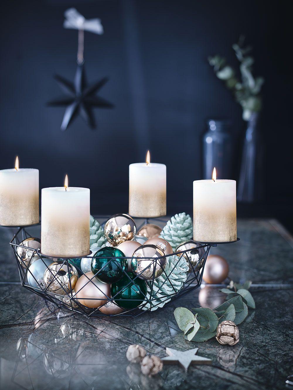 adventskranze bei depot europ ische weihnachtstraditionen. Black Bedroom Furniture Sets. Home Design Ideas