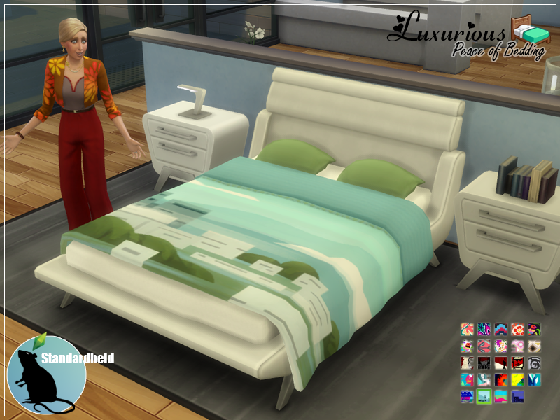 Luxurious Peace Of Bedding Recolor By Standardheld Via Tumblr