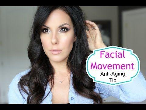 ▶ Facial Movement Anti-Aging Tip - YouTube