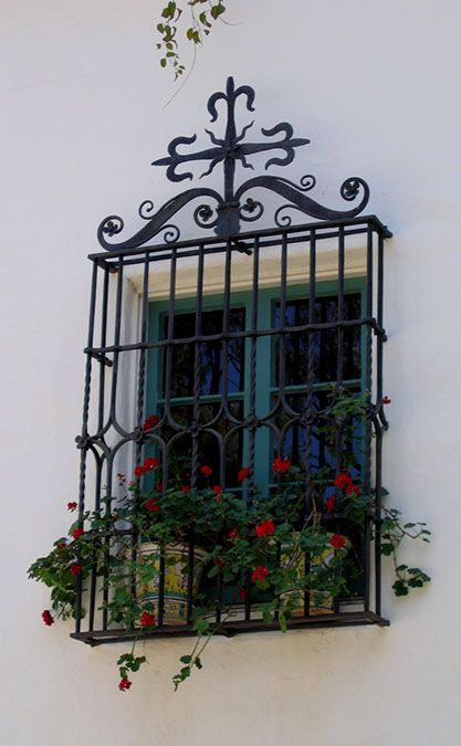 Spanish Wrought Iron Window Grills 1