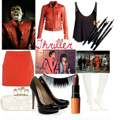 c3a1c0c126ad Michael Jackson Inspired Looks  Thriller