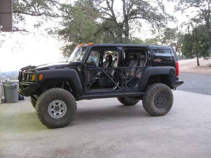 Hummer H3 Half Tube Doors Hummer H3 Hummer Cars Hummer