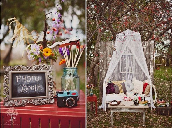 Vintage Daybed Photo Booth Link To Great Creative Ideas