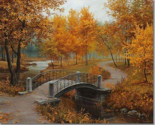 Autumn Park, Sofia, Bulgaria