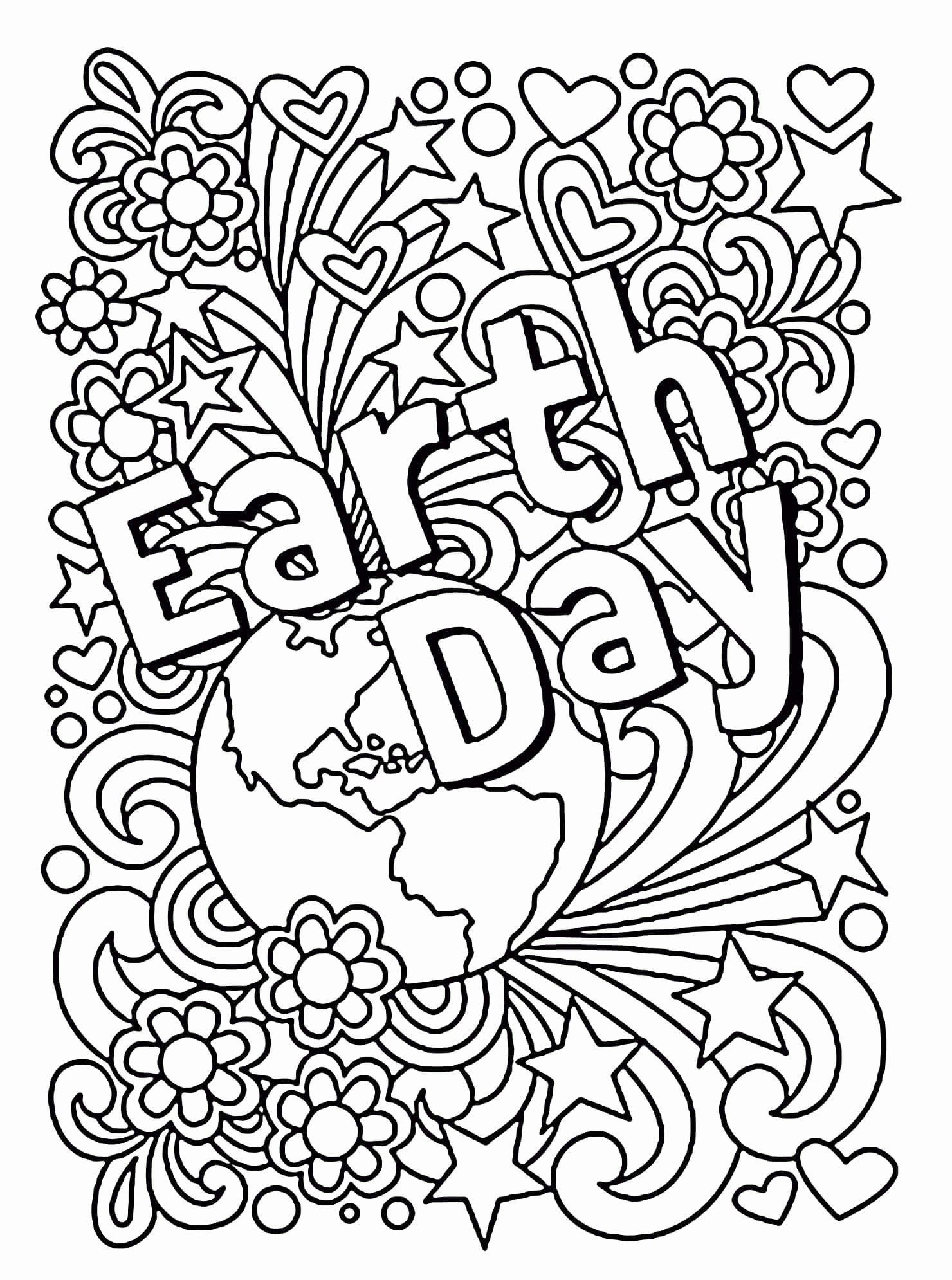 Printable Earth Day Coloring Pages In 2020 Earth Day Coloring Pages Coloring Pages Preschool Learning Activities