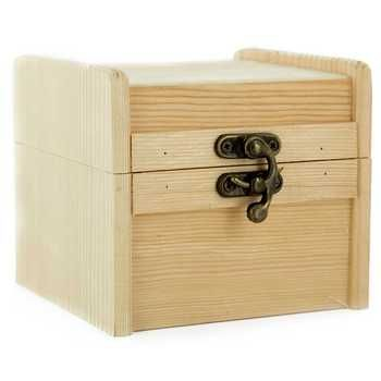 Wood Chest With Metal Clasp Wooden Boxes Wooden Hobby Lobby