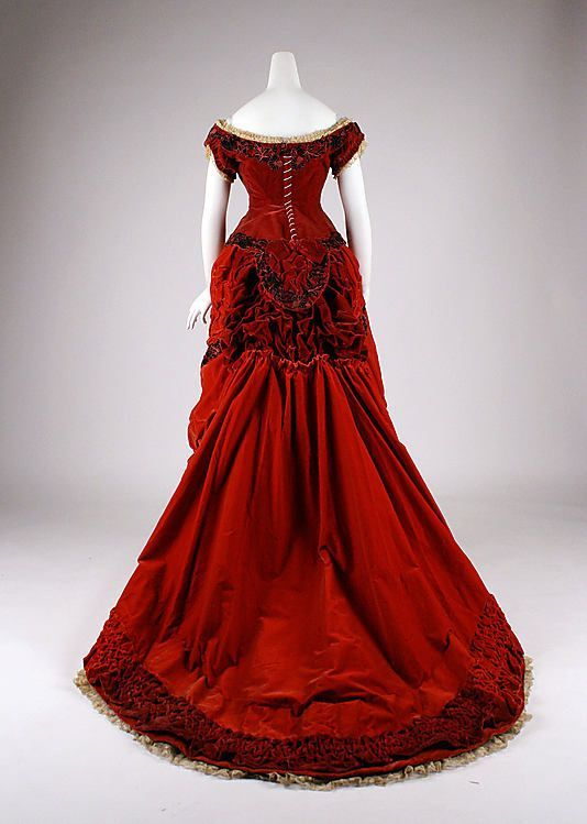 1875 British ball gown - lovely...Merry Christmas! jh   Vintage ... d30a4dac8432