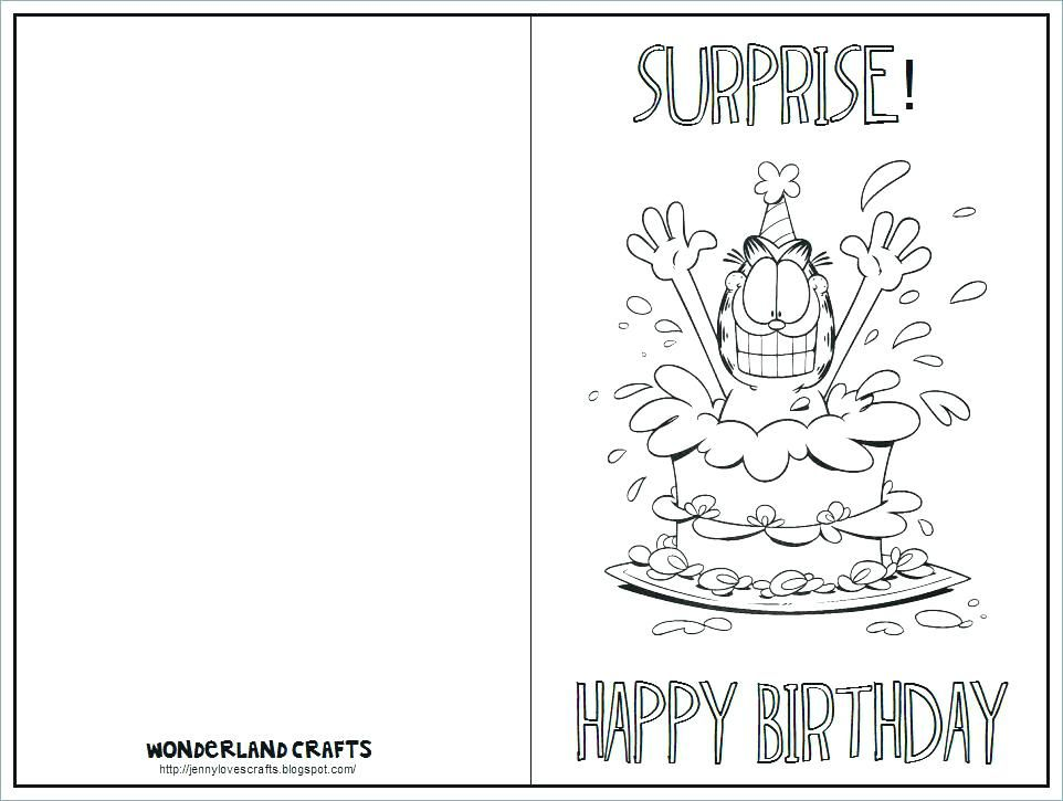 kids birthday card template