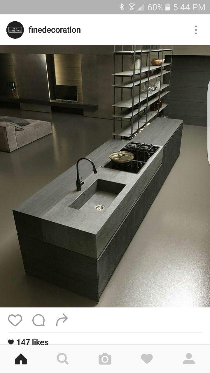 Die Modernen Minimalistischen Kuchen Von Zampieri Cucine - Design