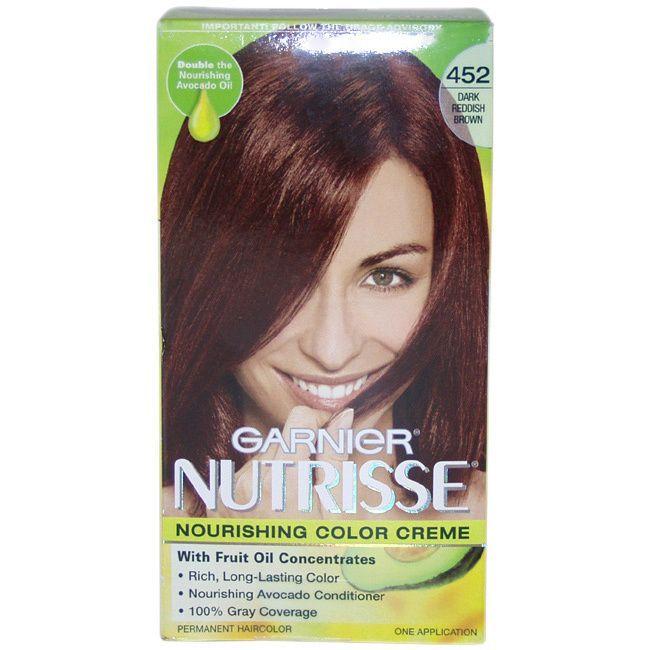 Garnier Nutrisse Nourishing 452 Dark Reddish Color Creme