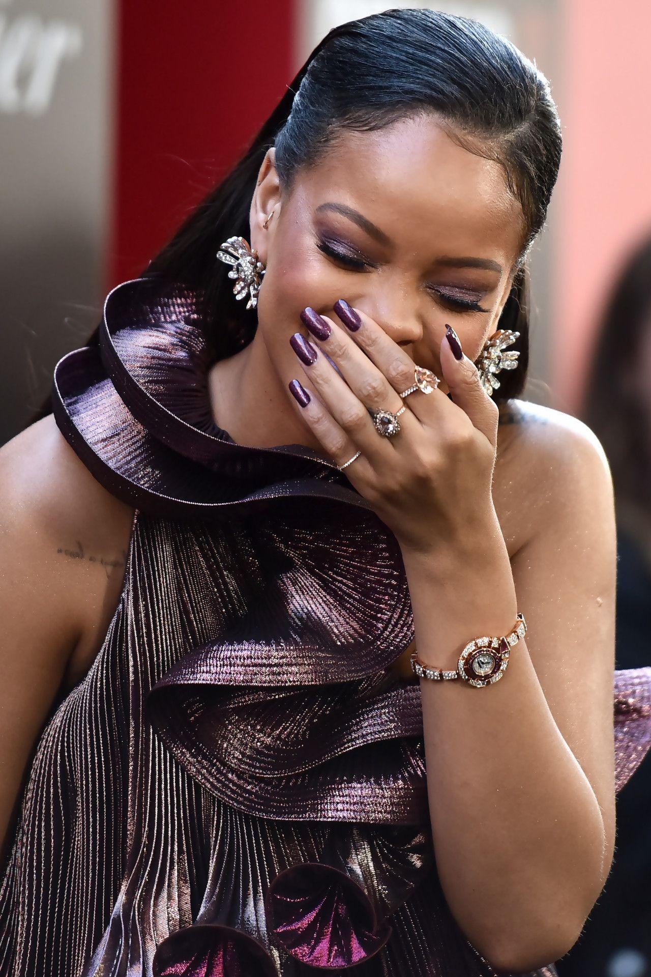 420af36b2cd Rihanna at Ocean s 8 premiere in New York (5th June 2018)