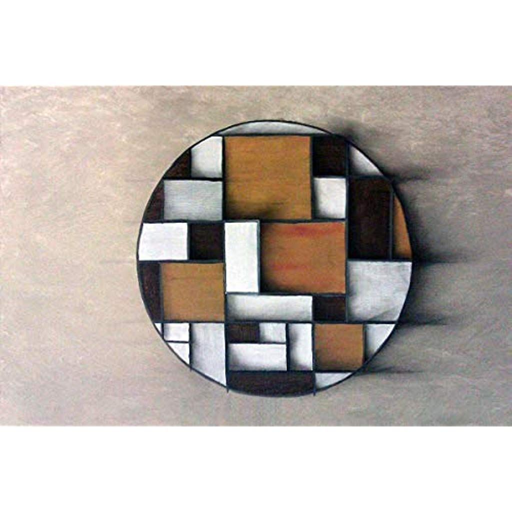 Acryl auf Leinwand modern Bild geometrische Formen Ambiente ...
