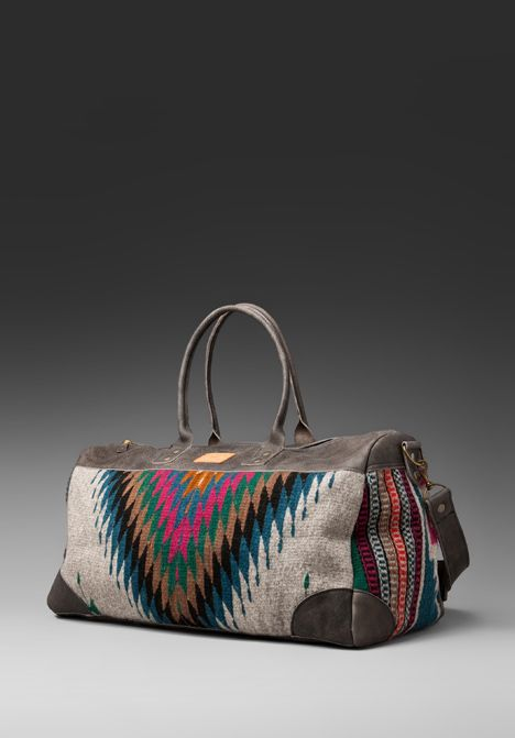 WILL LEATHER GOODS Oaxacan Duffle in Grey - j  876d469d63