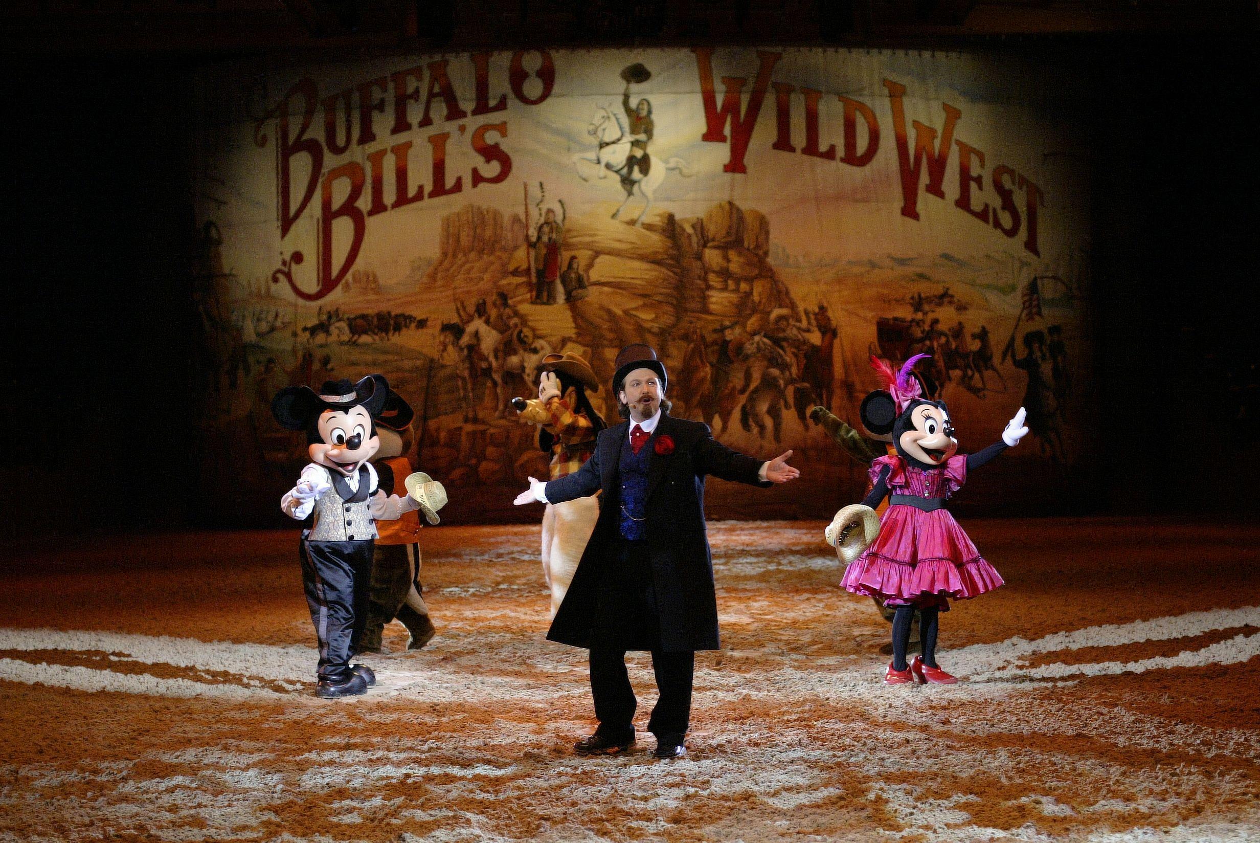 Copyright Disneyland Paris Disneyland Paris Disneyland Buffalo Bill