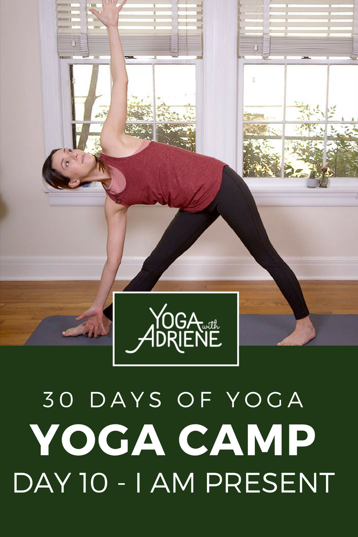 30 Days Of Yoga With Adriene Day 11 : adriene, Practice, About., Presence., Focus, Sensations, Yoga,, Adriene,, Videos