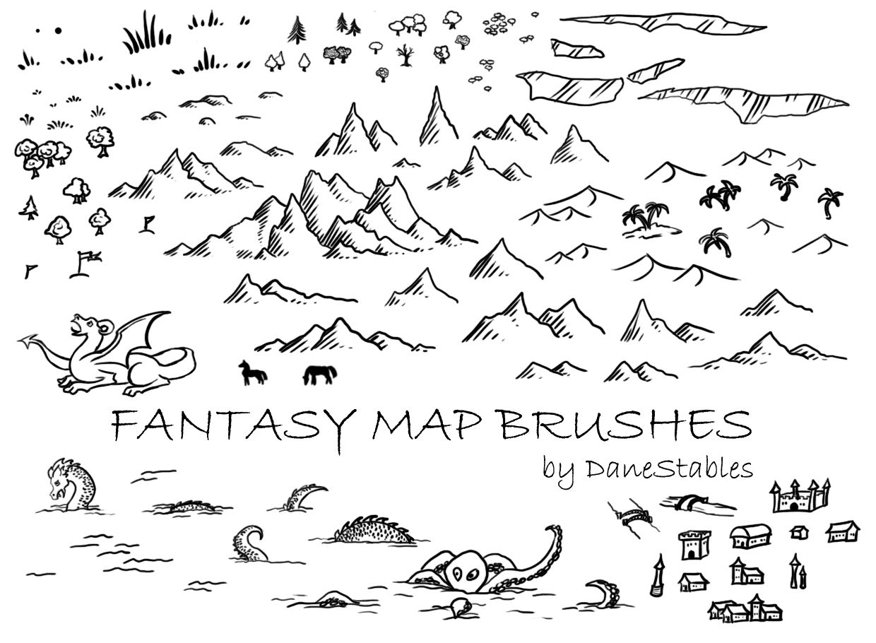 drawing a map in photoshop The authors guide to drawing maps is a collection of articles to help you when drawing maps why do i need a map  learn to draw a stunning map using photoshop.