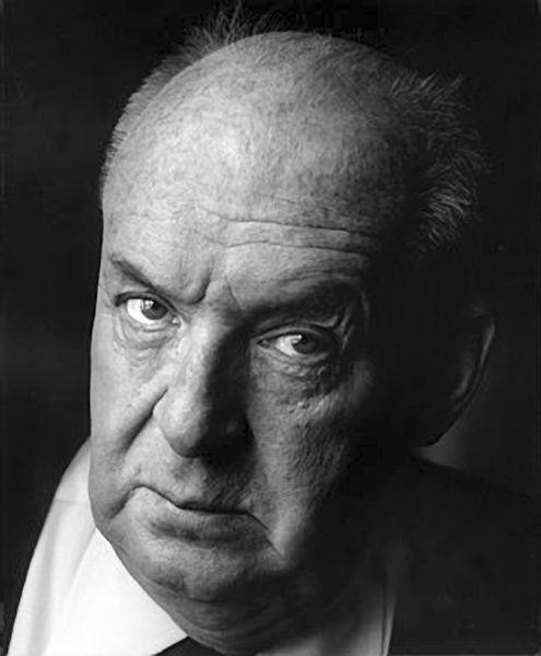 Vladimir Nabokov (1899-1977) - Russian-American novelist. Photo by Horst Tappe