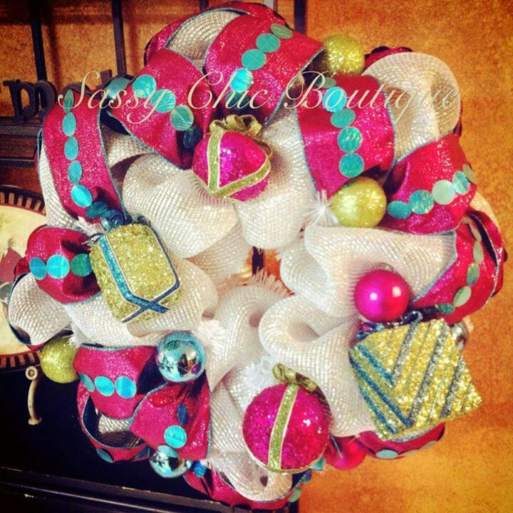 Spectacular wreath by Sassy Chic Boutique