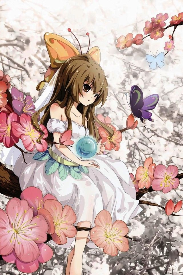 Cute, kawaii, anime, girl