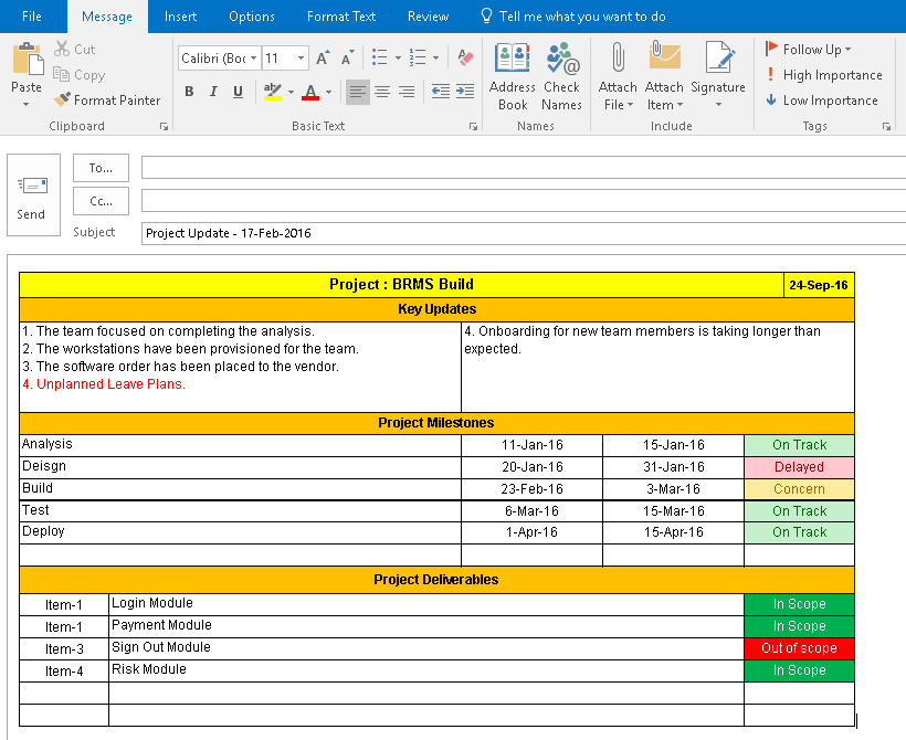 how to create reports in project online