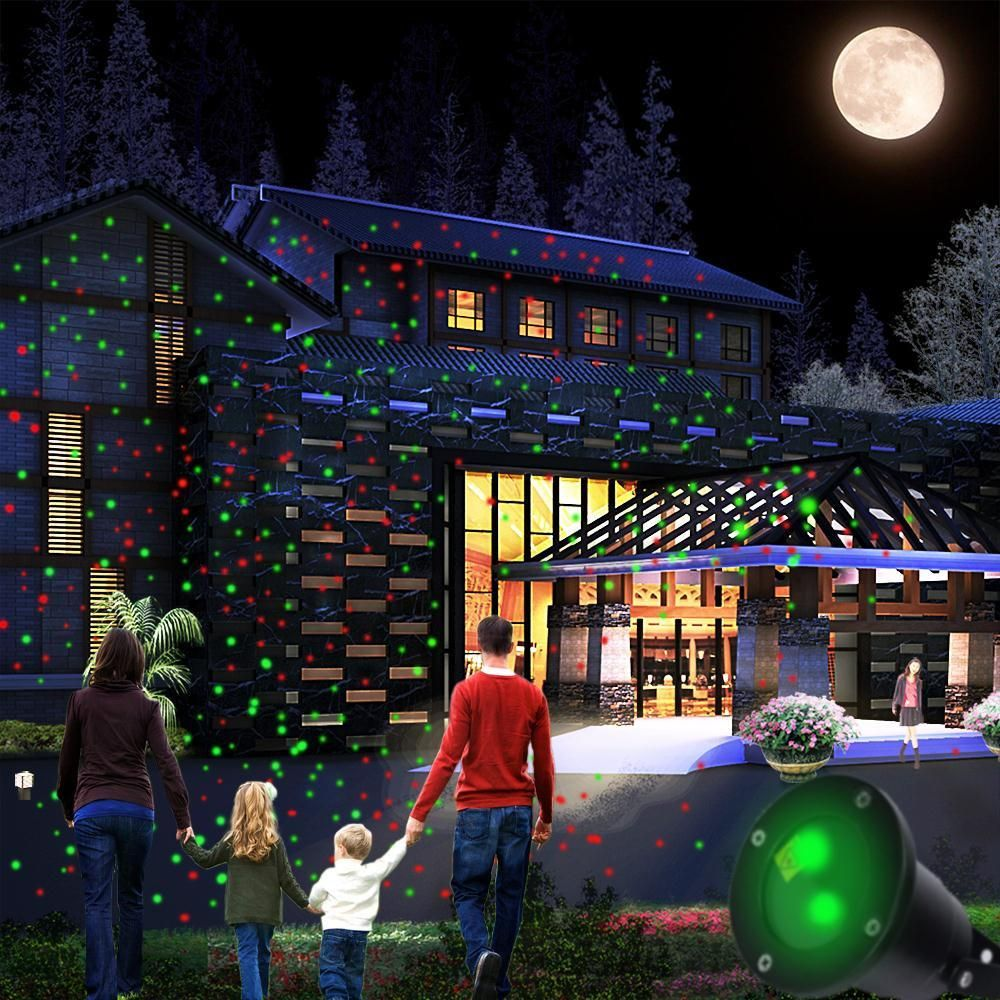 top ip65 waterproof elf christmas lights red green moving twinkle outdoor christmas laser lights projector decorations