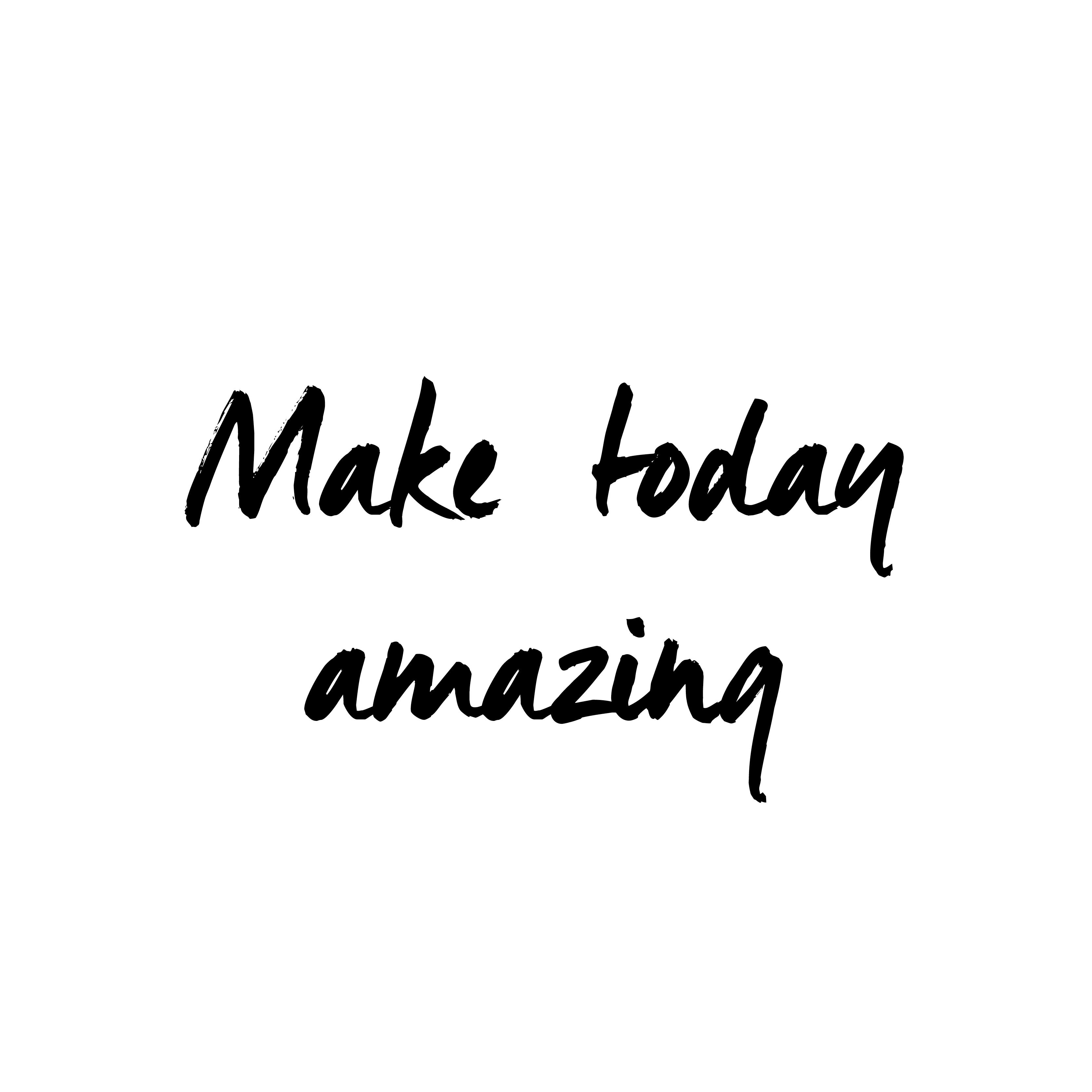 Make today amazing #quote  Senior quotes, Short inspirational