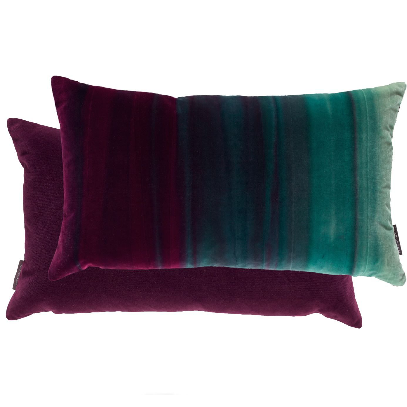 Harlequin Fabric Cushion Cover AMAZILIA Papaya//Raspberry//Loganberry Velvet
