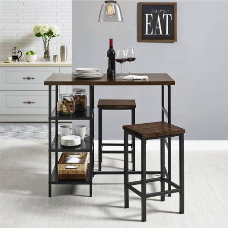 Home Breakfast Bar Table Decor Vintage Industrial Furniture