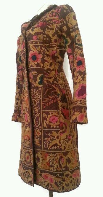 BIYA Silk Embroidered Long/Coat Jacket!