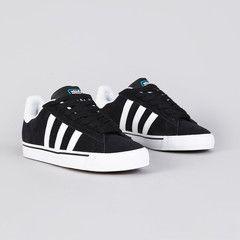 separation shoes fe5cc 47149 Adidas Campus Vulc Black1   Running White FTW   Pool