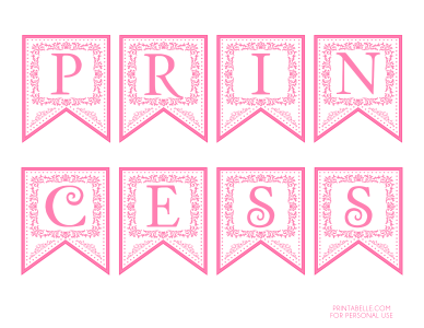 Princess Birthday Party Printables In 2020 Pink Princess