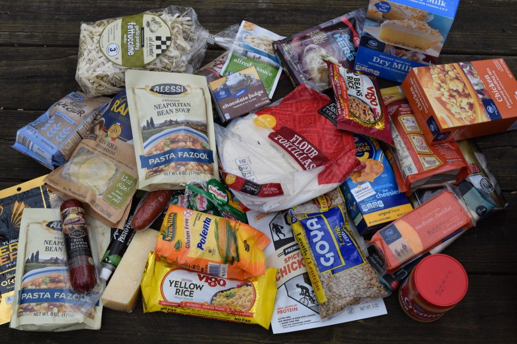 Backpacking Food Ideas Grocery Store
