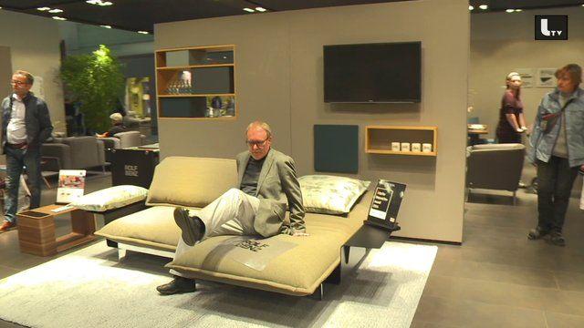 LIFESTYLE TV :: Video Rolf Benz bei der Wohnen & Interieur Messe Wien 2014