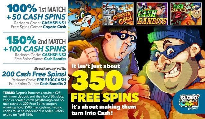 Sloto Cash Casino Bonus Codes 2021