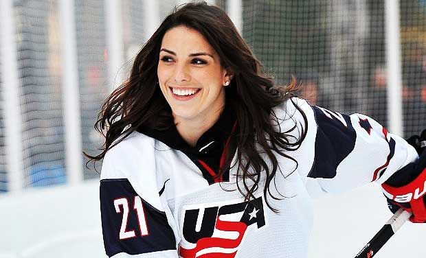Hilary Knight - Olympic Silver Medalist Ice Hockey Player When you put  Hilary on ice,