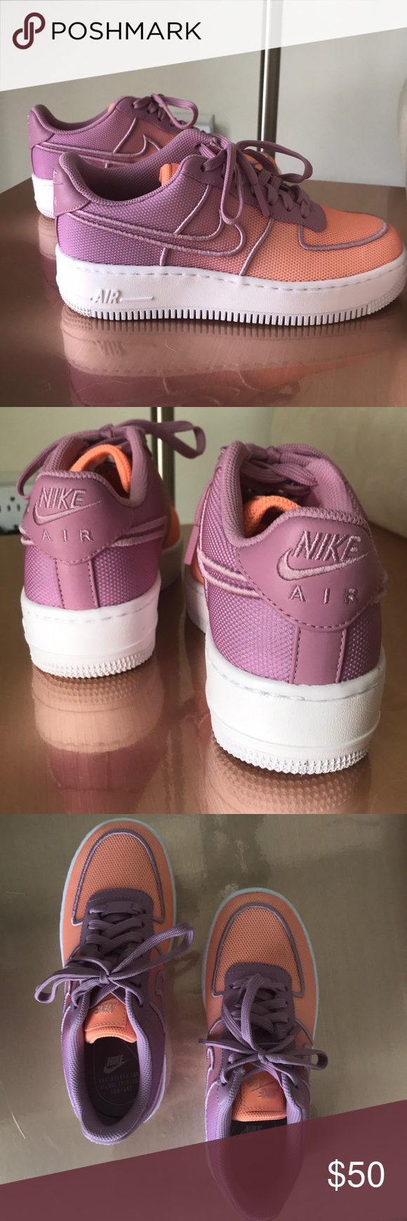 NWOT Nike Air Force 1 Low Upstep BR Sz. 6.5 Brand new, just