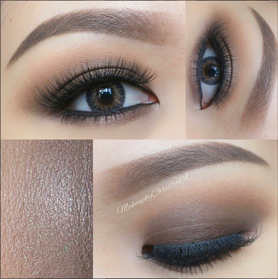 Eyemakeup For Monolids Gradually Apply The Eyeshadows