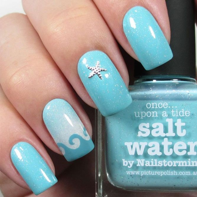 30 Swimming Pool Summer Nail Art Ideas That Will Cheer You Up