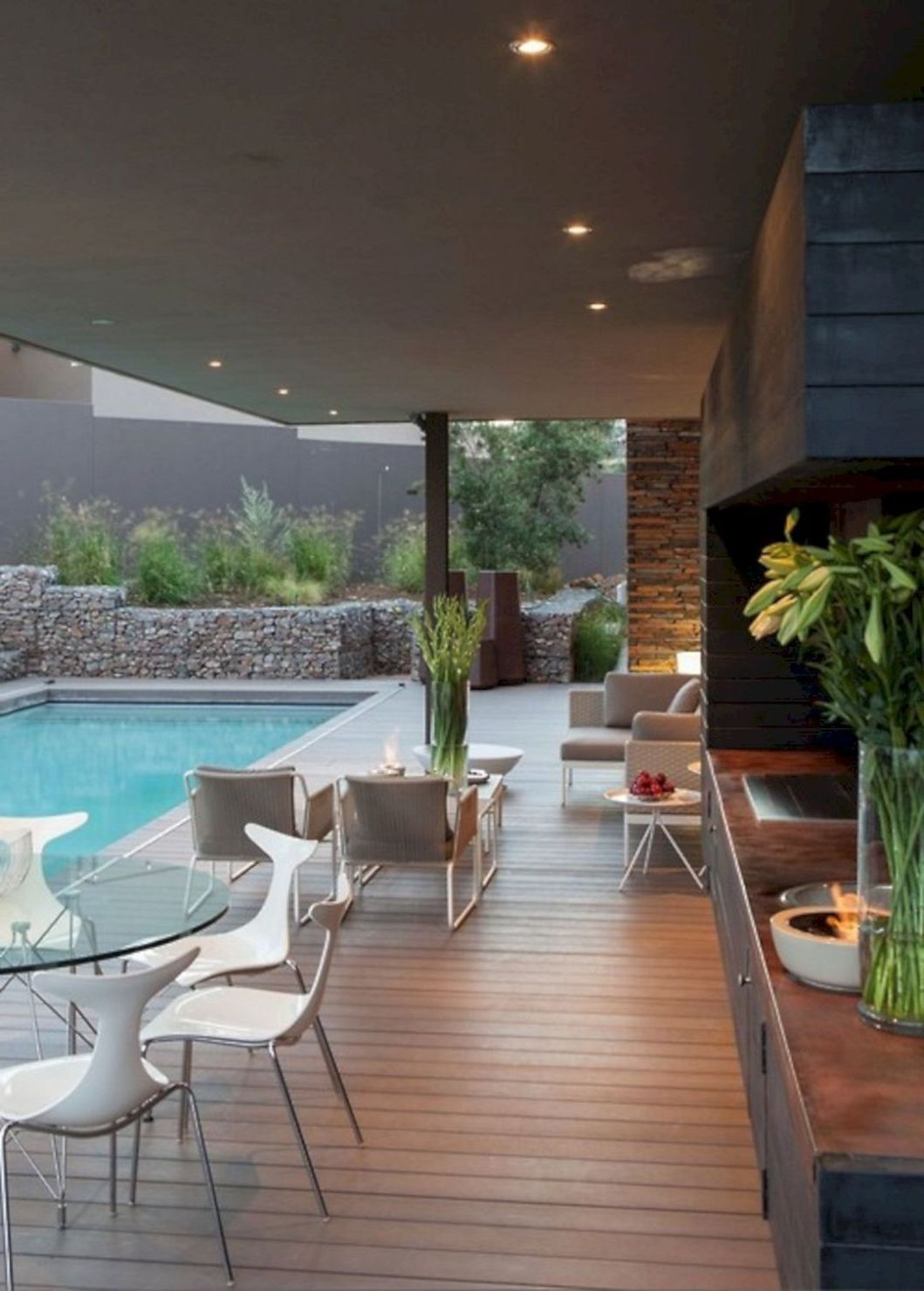 Amazing Pool Ideas Perfect For Small Backyards Decor Around The World Pool Decor Outdoor Design Outdoor Pool Decor