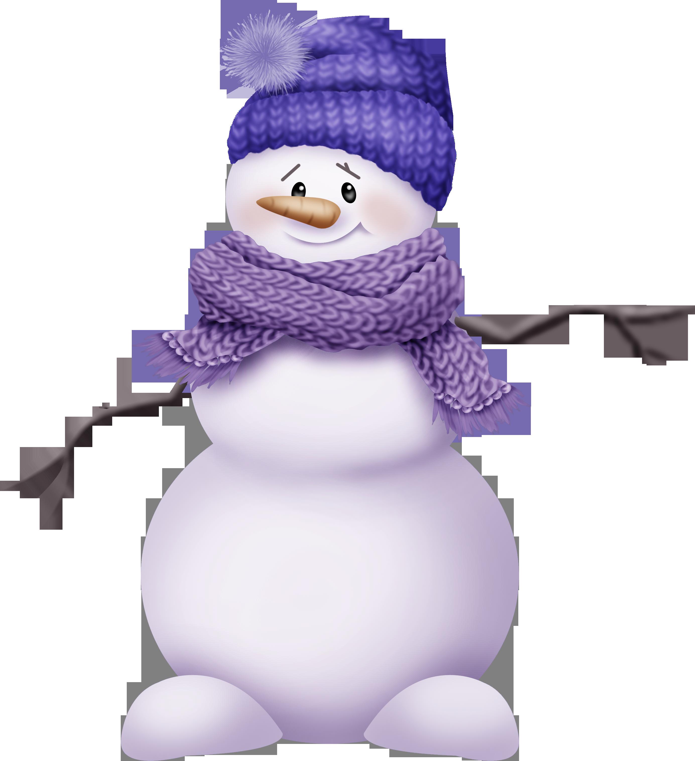 Снеговик картинка без фона