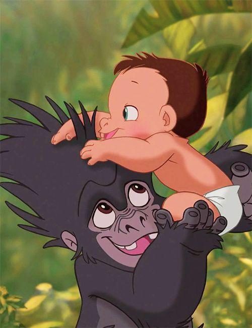 Turk And Tarzan Tarzan Disney Disney Wallpaper Disney Art
