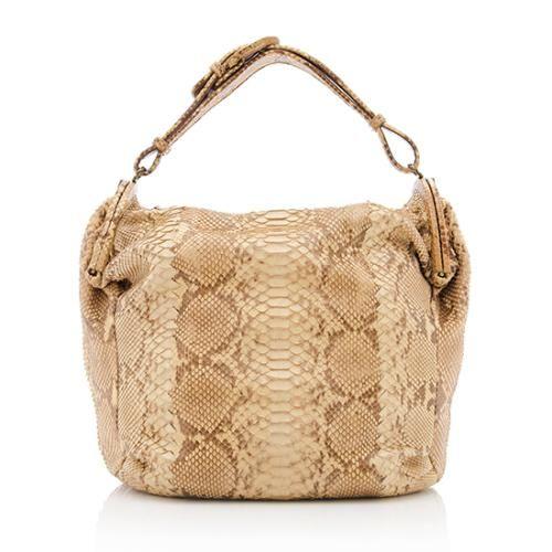 Bottega Veneta Limited Edition Python Shoulder Bag