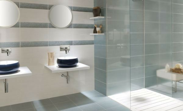 The Floor And Wall Tiles Together From Big Tile Company Fox