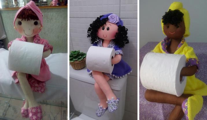 Crea Un Lindo Portapapel Higiénico DIY de Muñeca Para Tu ...