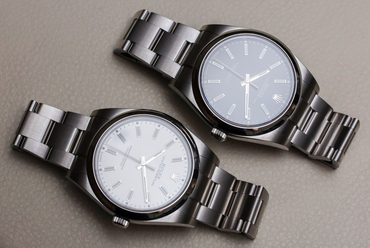 Rolex Oyster Perpetual 39 114300 Black Or White Dial